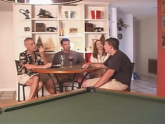 Cuckold husband discussing iwls skills with wife