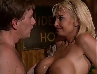 Chick with big boobs Rebecca Wild gets drilled brutally