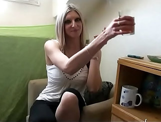 Amateur French Hottie Fucked Doggystyle