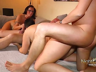 Busty Amateur German Schoolgirl With Tattoed Body Gives Head