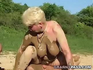 matures get ready for a threesome