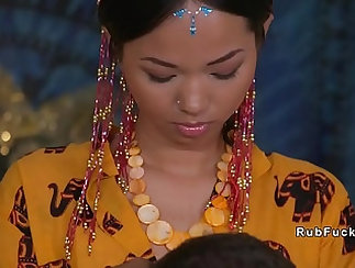 cute asian teacher loves to play and crying under scrutiny