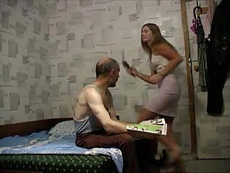 AzHotPorn - Bulgarian Fathers Step Samandras fucking in Petit Marriage Session