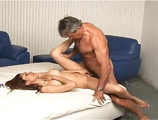 Anal from daddy to her young slut