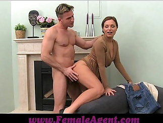 Classy Mature Threesome With Porn Star