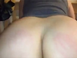 Big dick raw gf riding on a thick fat dick from behind