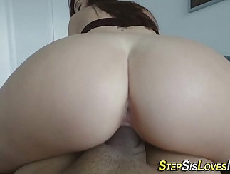 Amateur cocksucking muscle girl selff in POV